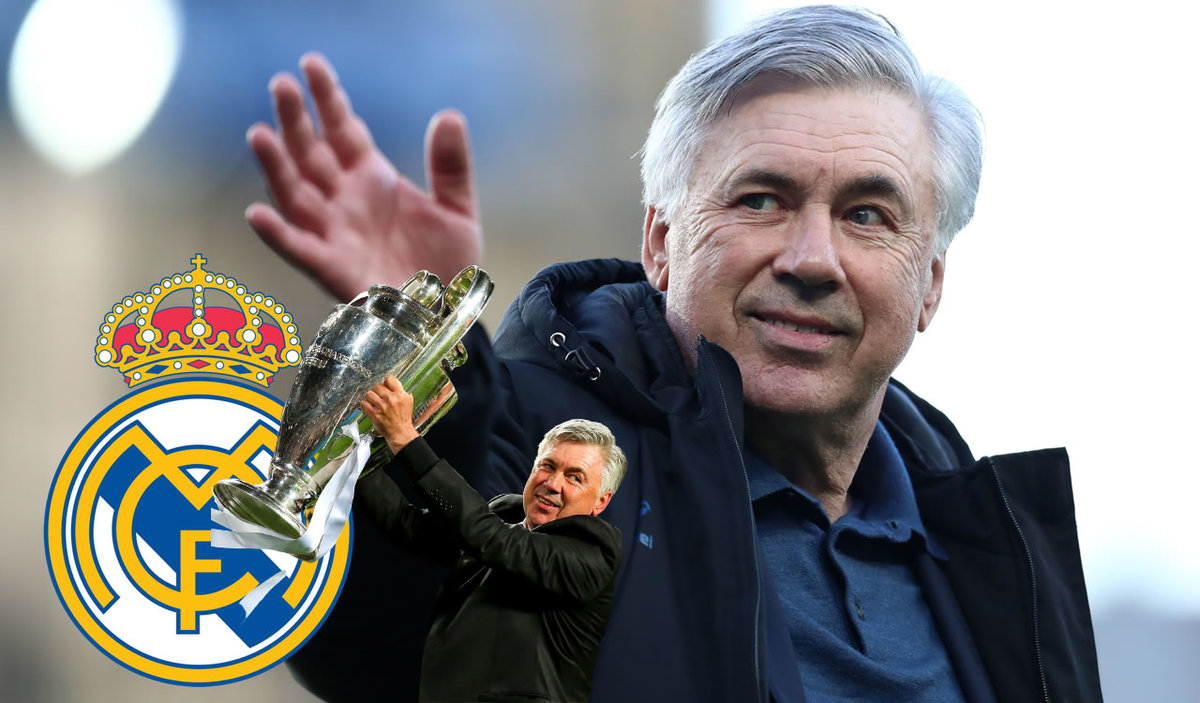 Carlo Ancelotti returns to Real Madrid.  He is the new coach at Zidane's comfort