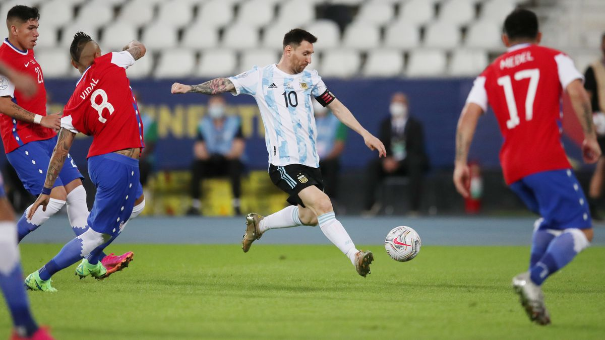 Chile frustrates Argentina in Copa America start (1-1) |  United States Football Cup 2021