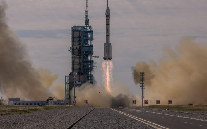 China successfully launches a manned mission to its space station |  Science