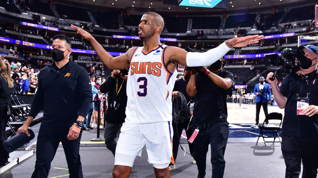 Chris Paul (Protocols) will appear in Game 3