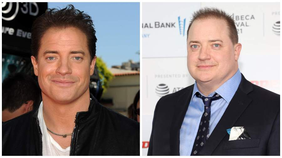 Do you recognize him?  Brendan Fraser appears again on the red carpet and is shocked by his physical transformation تحول