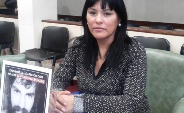 Elizabeth Aguirre of Libres del Suf