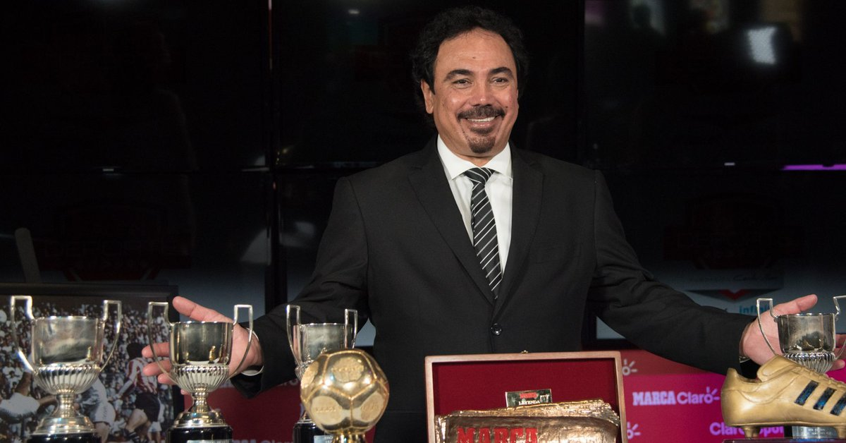 Hugo Sanchez presented himself on Spanish television to direct Real Madrid