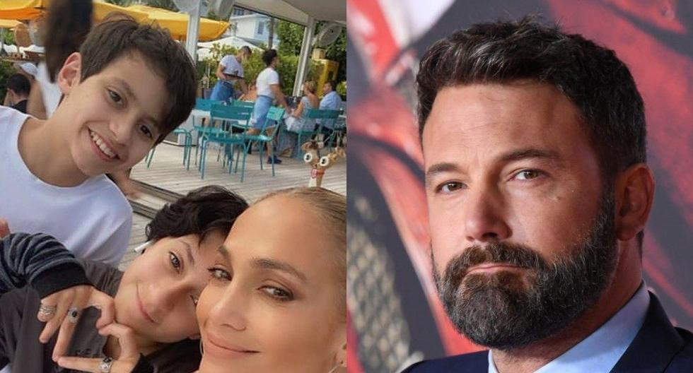 Jennifer Lopez and Ben Affleck: How the actor's good relationship with JLo Max and Emmy's sons is being falsified    Bennifer    Marc Anthony    celebrity    United States    nda    nnni    Persons