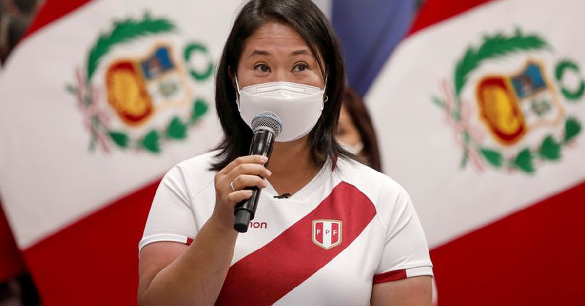 """Keiko Fujimori: """"I'm sure all Peruvians will know how to make a good decision, vote without fear"""""""