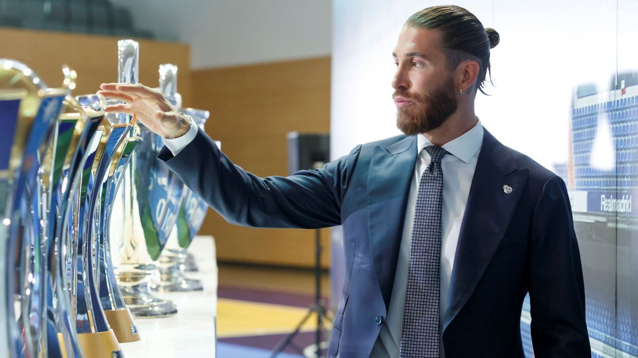 Manchester City and PSG are in the best position to take Sergio Ramos … the pros and cons of each option