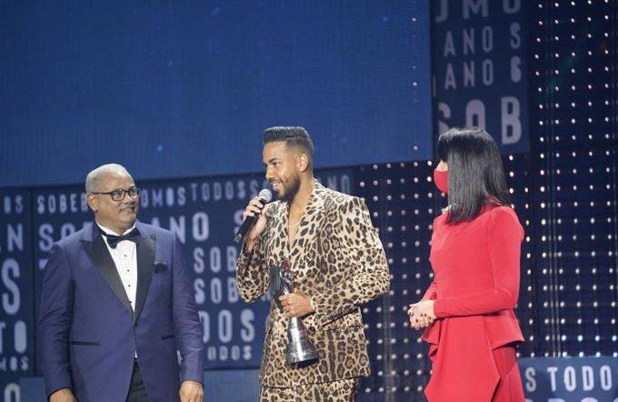 Romeo Santos wins the 2020 Grand Sovereign and Niní Cáffaro 2019