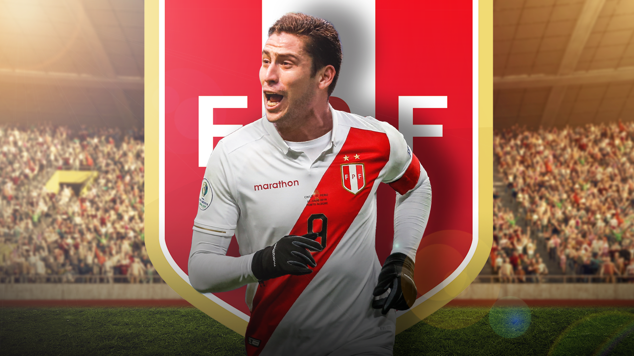 Santiago Urmenho was called up by Peru to the Copa America