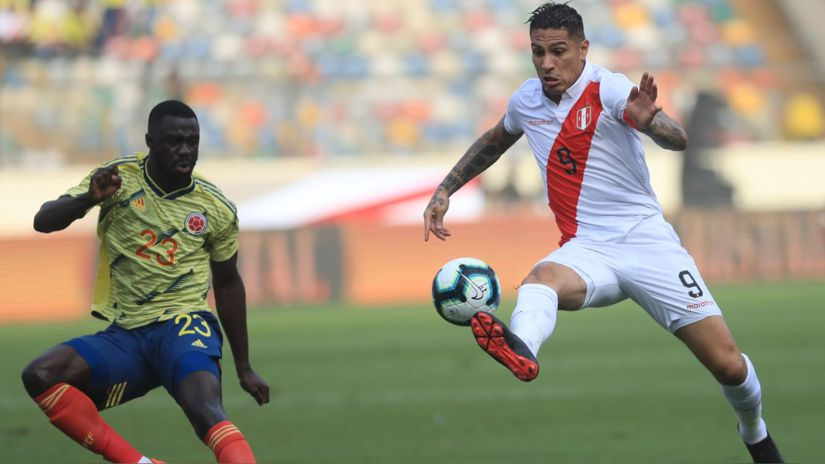 See today Peru vs.  Colombia Qualifiers Live: Watch via Movistar Deportes and Latina Transmission MINUTE BY MINUTE FREE Matches by Date 7 from the National Stadium |  live football