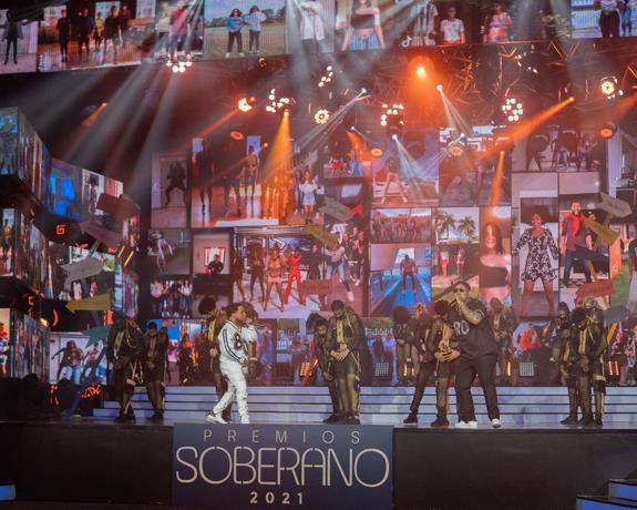 TV audience for Premios Soberano 2021 drops to 10.45%