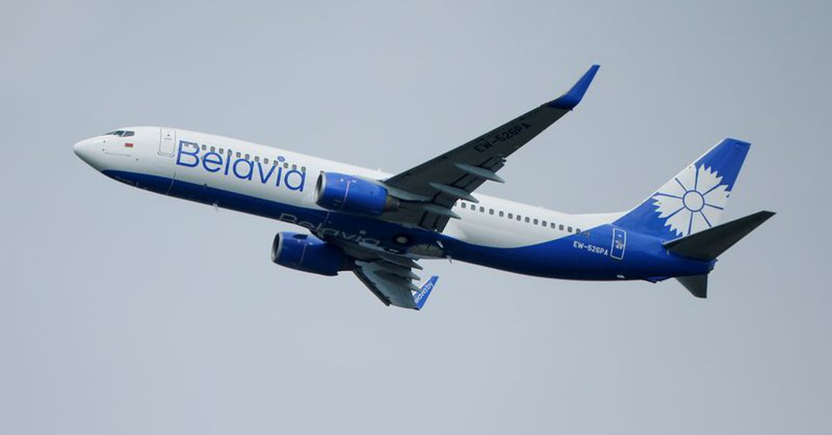 The European Union closed its airspace to Belarusian aircraft
