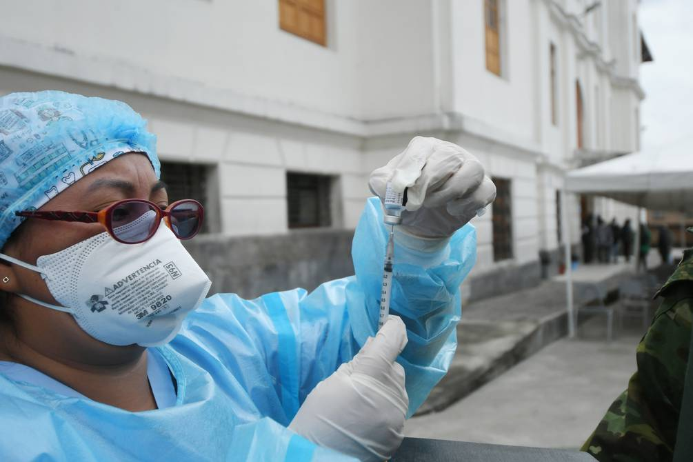 This Sunday, the Ministry of Public Health (MSP) introduces 20 vaccination scales to track the doses applied against COVID-19 |  community |  Guayaquil