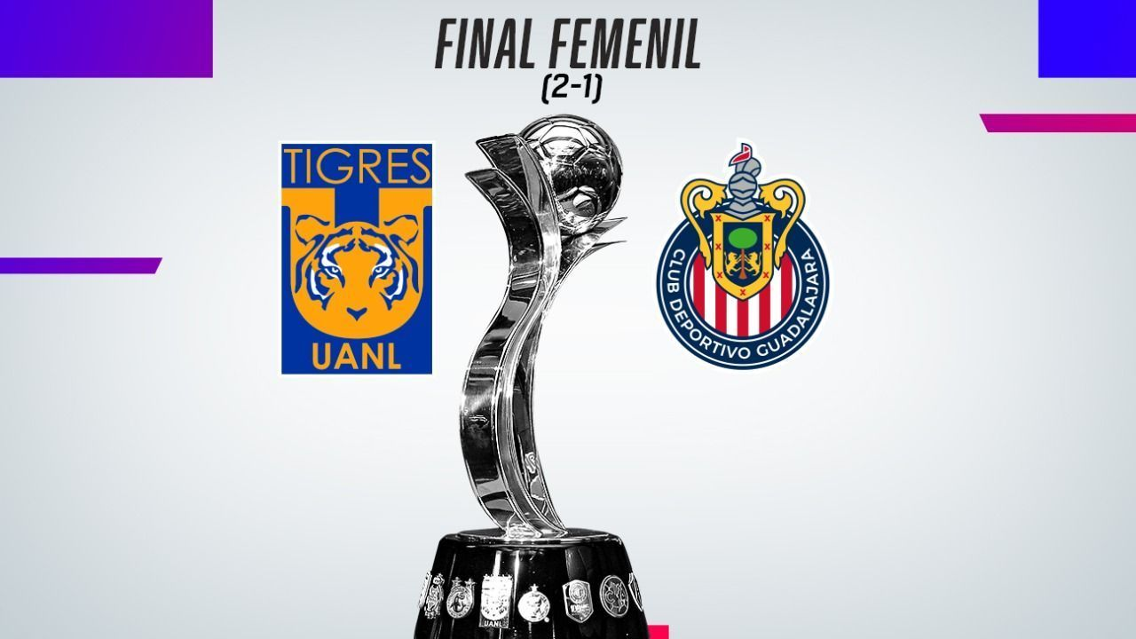 Twice Champion!  Tigres Chivas was crowned with a crush