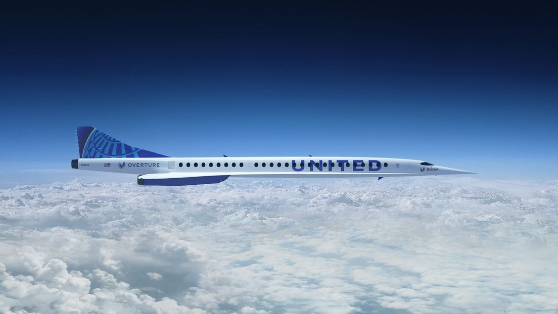 United Airlines orders supersonic planes capable of flying from New York to London in just 3.5 hours (video, photos)