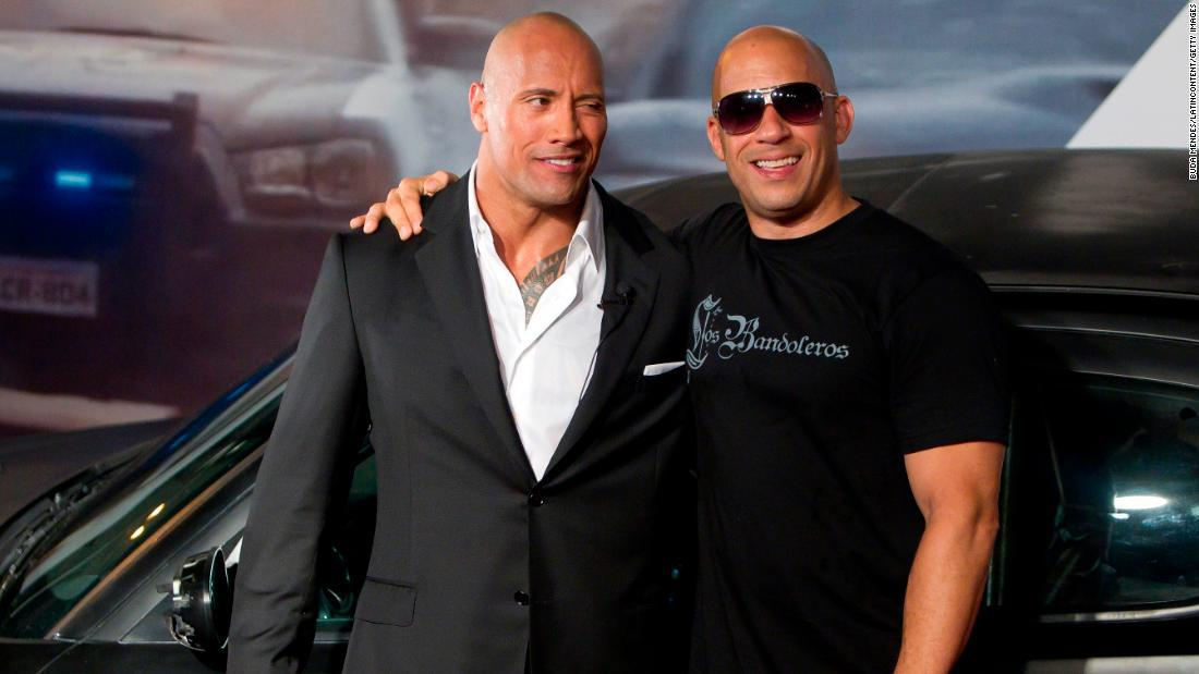 """Vin Diesel talks about his feud with Dwayne """"The Rock"""" Johnson"""