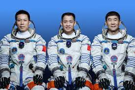 China sends three astronauts to the International Space Station.
