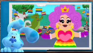 Nickelodeon's 'Blue's Clues & You' releases 'predatory' LGBT parade video featuring drag queen