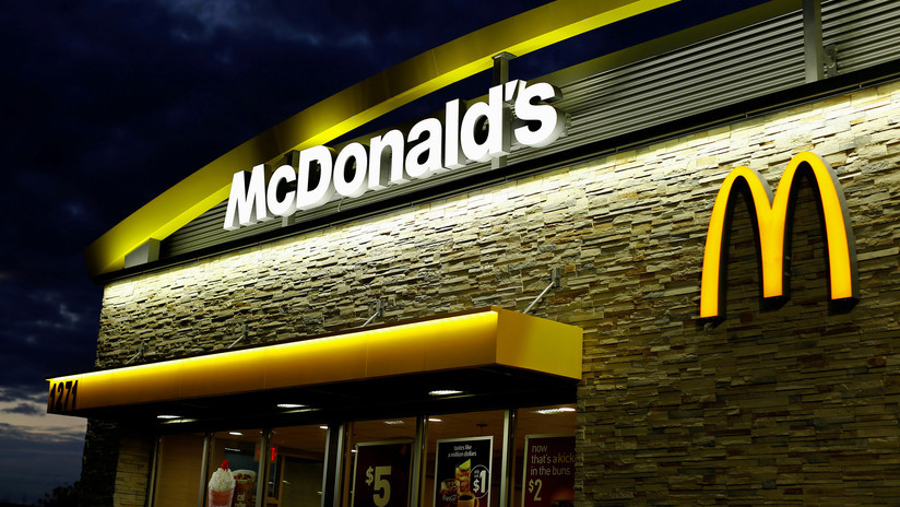In the middle of a police chase, she stopped to order food at a McDonald's and got arrested