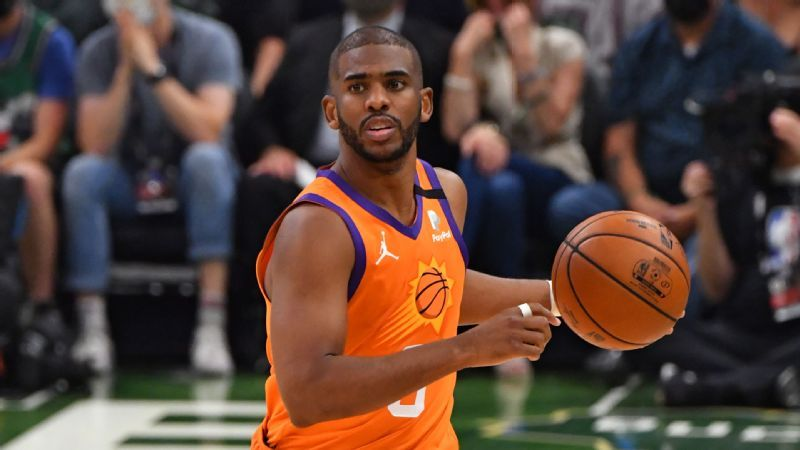 Phoenix Sons' Chris Paul Milwaukee vows to 'watch the ball' after costly breakthroughs at the loss of Game 4
