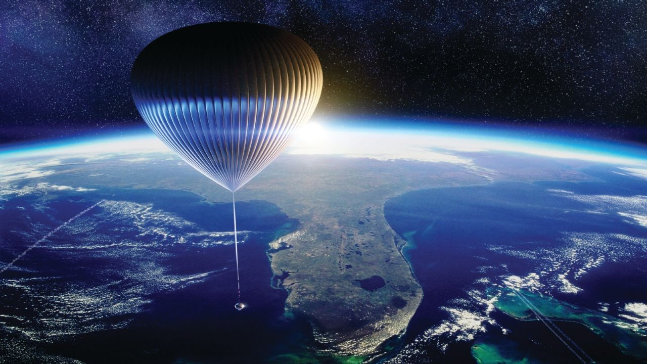 Balloon flights into space will be a reality in 2024