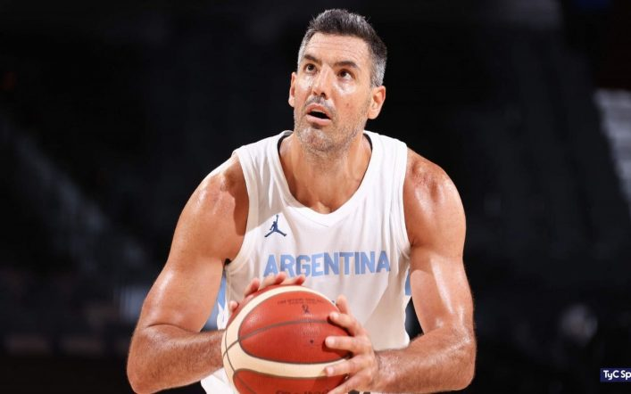 Luis Scola, strong in Tokyo 2020