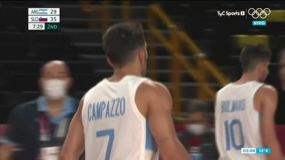 Argentina vs.  Slovenia in Olympic Basketball: I followed the event live