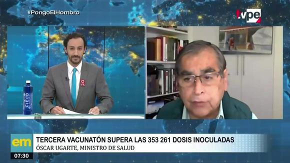 Minister Ugarte on vaccination