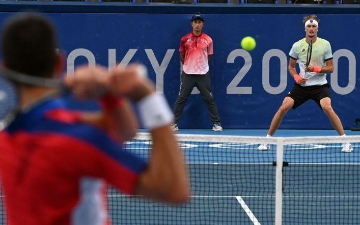 Alexander Zverev ends Novak Djokovic's gold dream