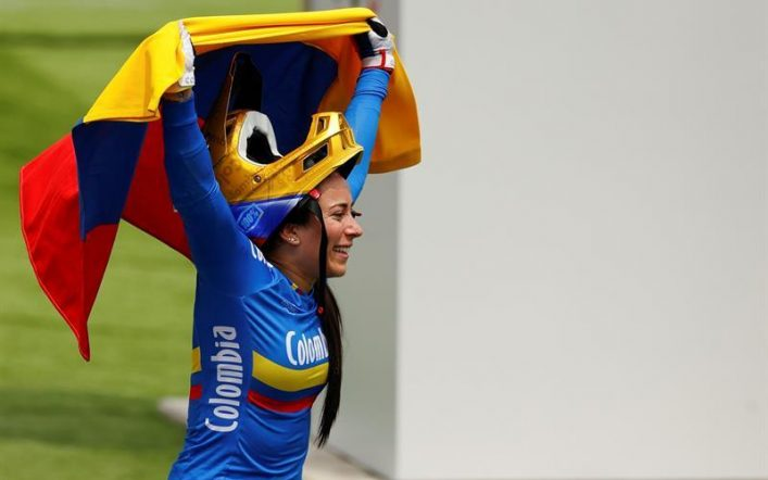 Mariana Bajan, Colombian BMX cyclist returns to the Olympic stage