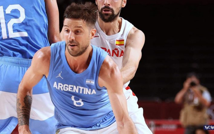 Laprovittola is optimistic with the Argentine basketball team at the Olympics
