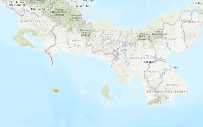 5.1 earthquake rocks the coast of Panama, according to the US Geological Survey