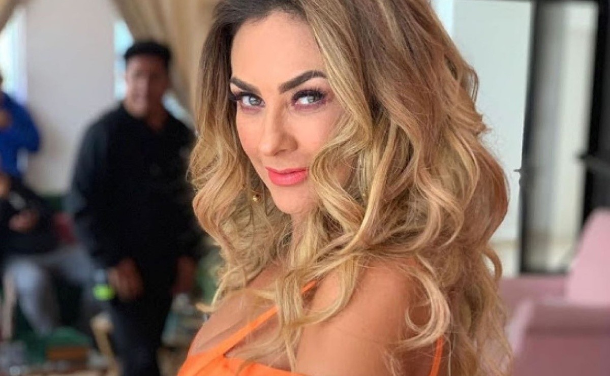 Aracely Arámbula shows off her heart attack figure with a bold swimsuit picture