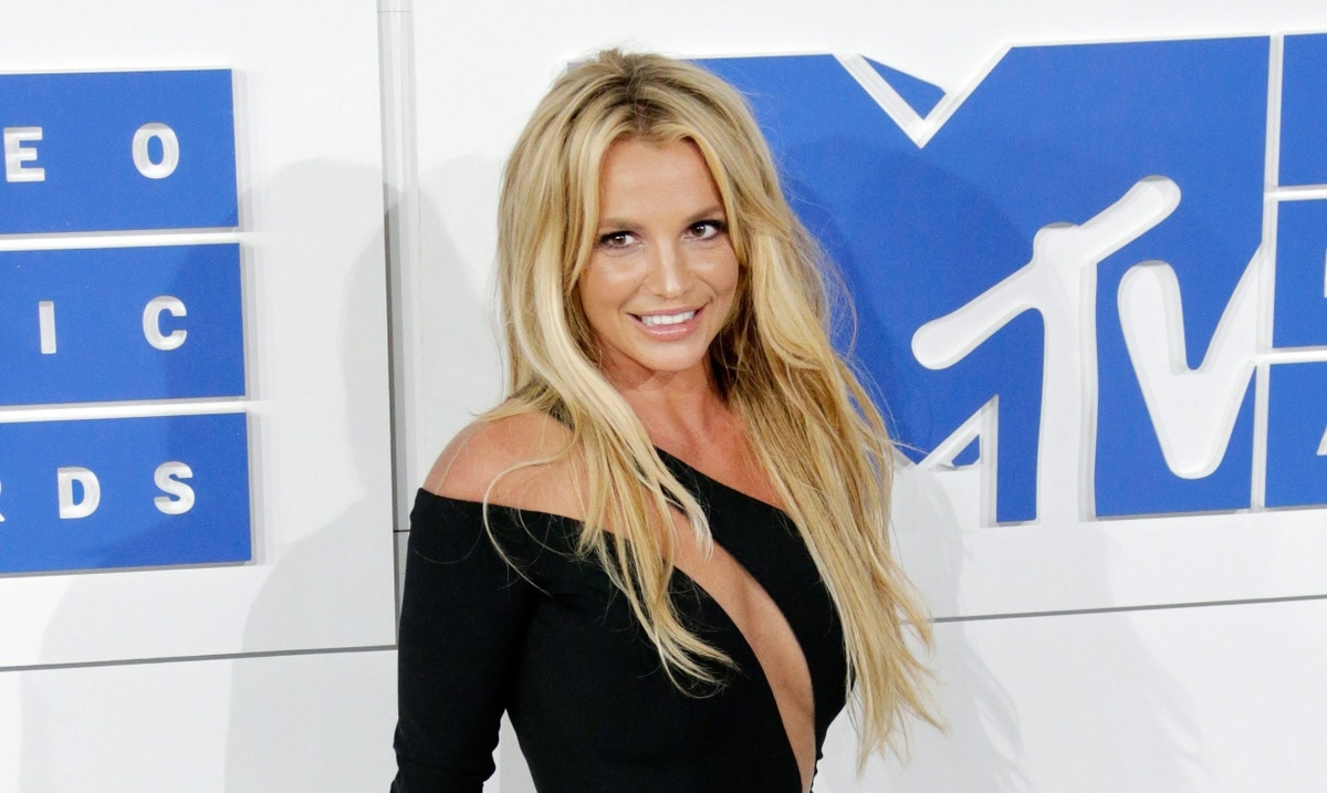 Britney Spears shows her breasts amid controversy over her guardianship