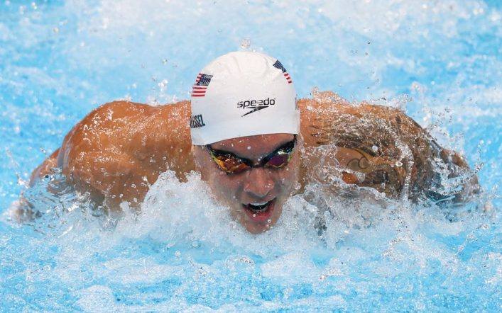 Caleb Dressel broke the world record in 100 butterflies and won gold