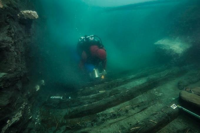EGYPT – A 2,500-year-old warship discovered in a submerged city
