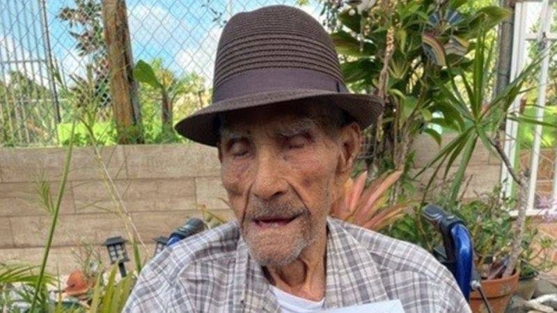 Emilio Flores: The secret of happiness for Puerto Rican who has just become the world's oldest man |  people |  entertainment