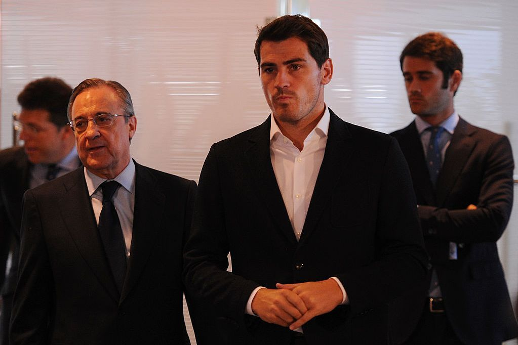 Florentino recordings from 2006 reveal attacks on Iker and Raul