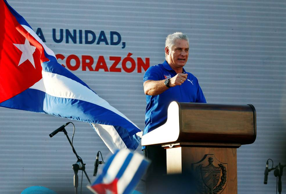 """""""It's a lie to see the world from Cuba,"""" said Diaz-Colonel  International    News"""