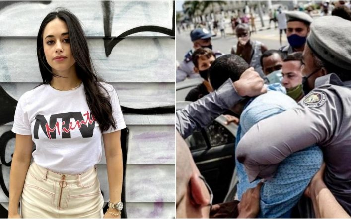 MTV and Grave's anatomical actress speak out against the political crisis in Cuba