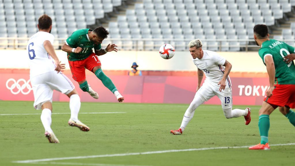 Mexico U23 vs.  France U23 – Match Report – July 22, 2021