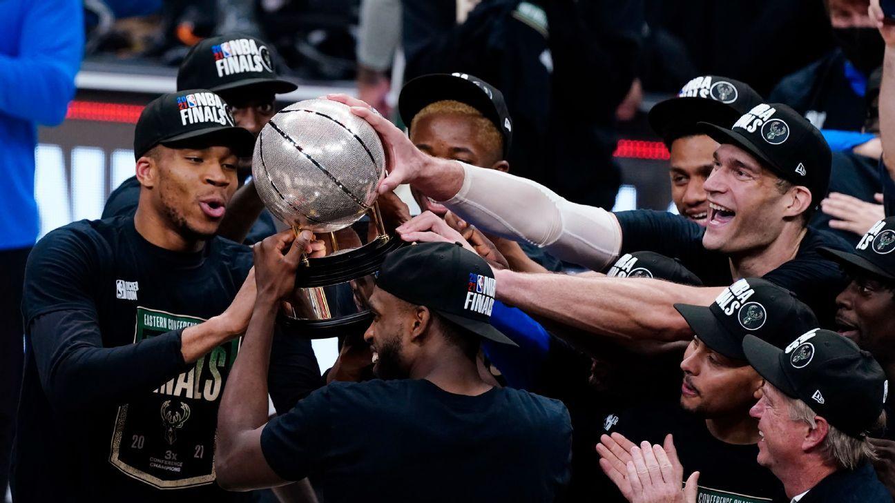 Milwaukee Bucks vs Phoenix Suns 2021 NBA Finals