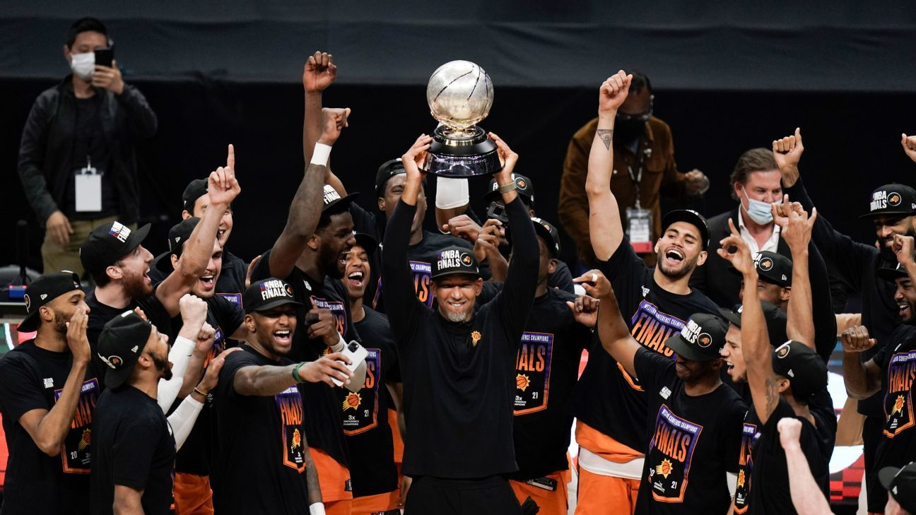 Phoenix Suns, Champions of the Western Conference