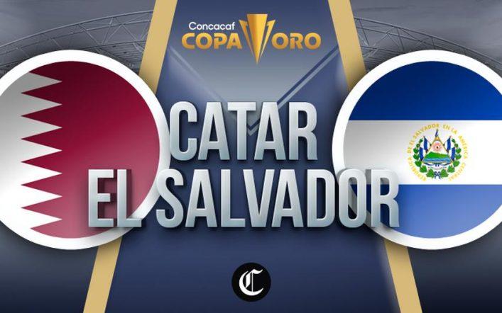 See free El Salvador vs.  Qatar LIVE: Follow the 2021 Gold Cup Quarter-finals match live |  Fox Sports 2 |  TUDN |  Univision |  NCZD |  DTBN |  Total Sports
