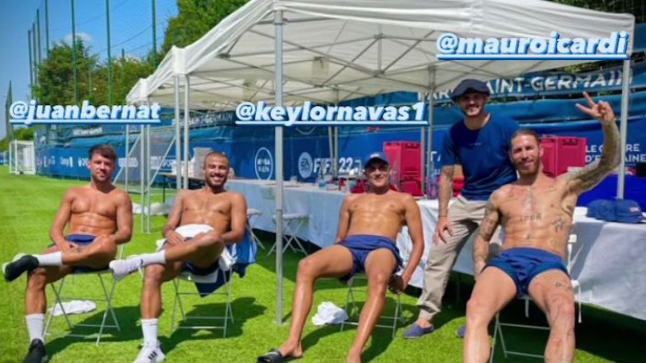 "Sergio Ramos and Keylor Navas Enjoy ""Like Family"" During European Summer"