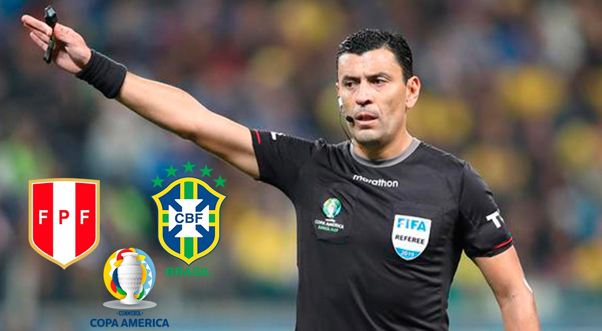 The Copa America semi-final will be played with the Chilean referee and Paraguayan VAR