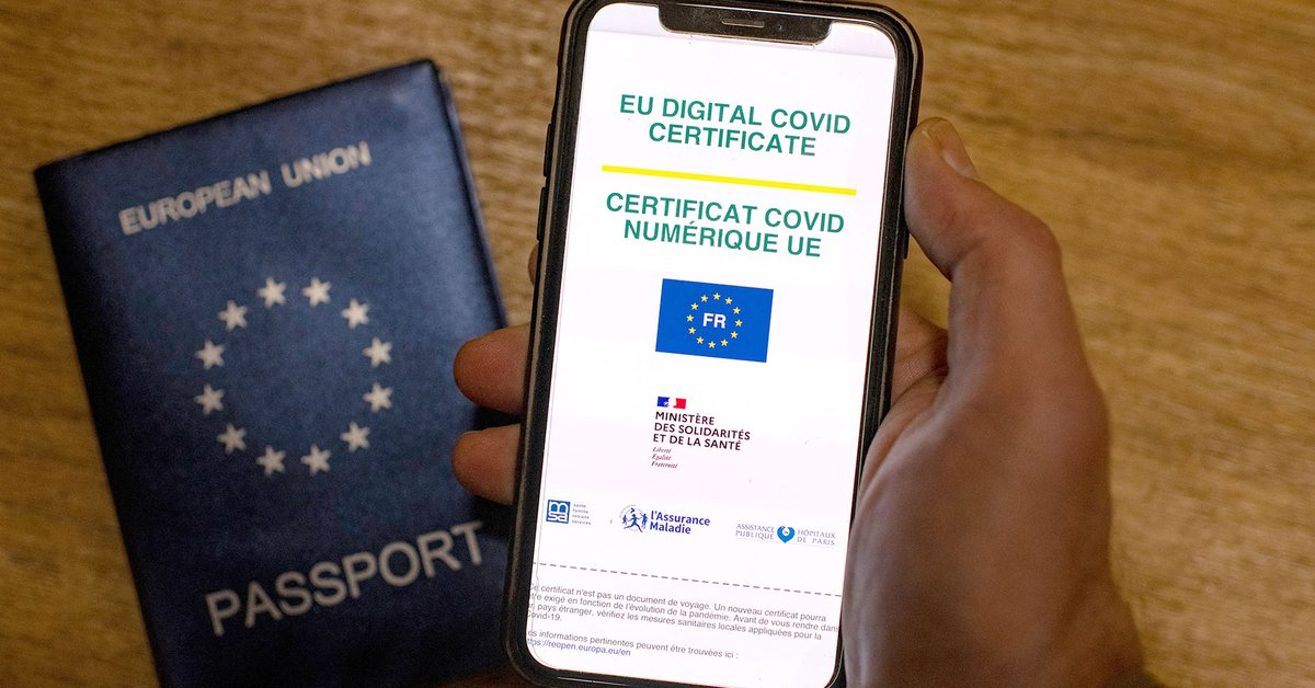 The European Health Certificate has entered into force: required to facilitate transportation between the 27 . countries