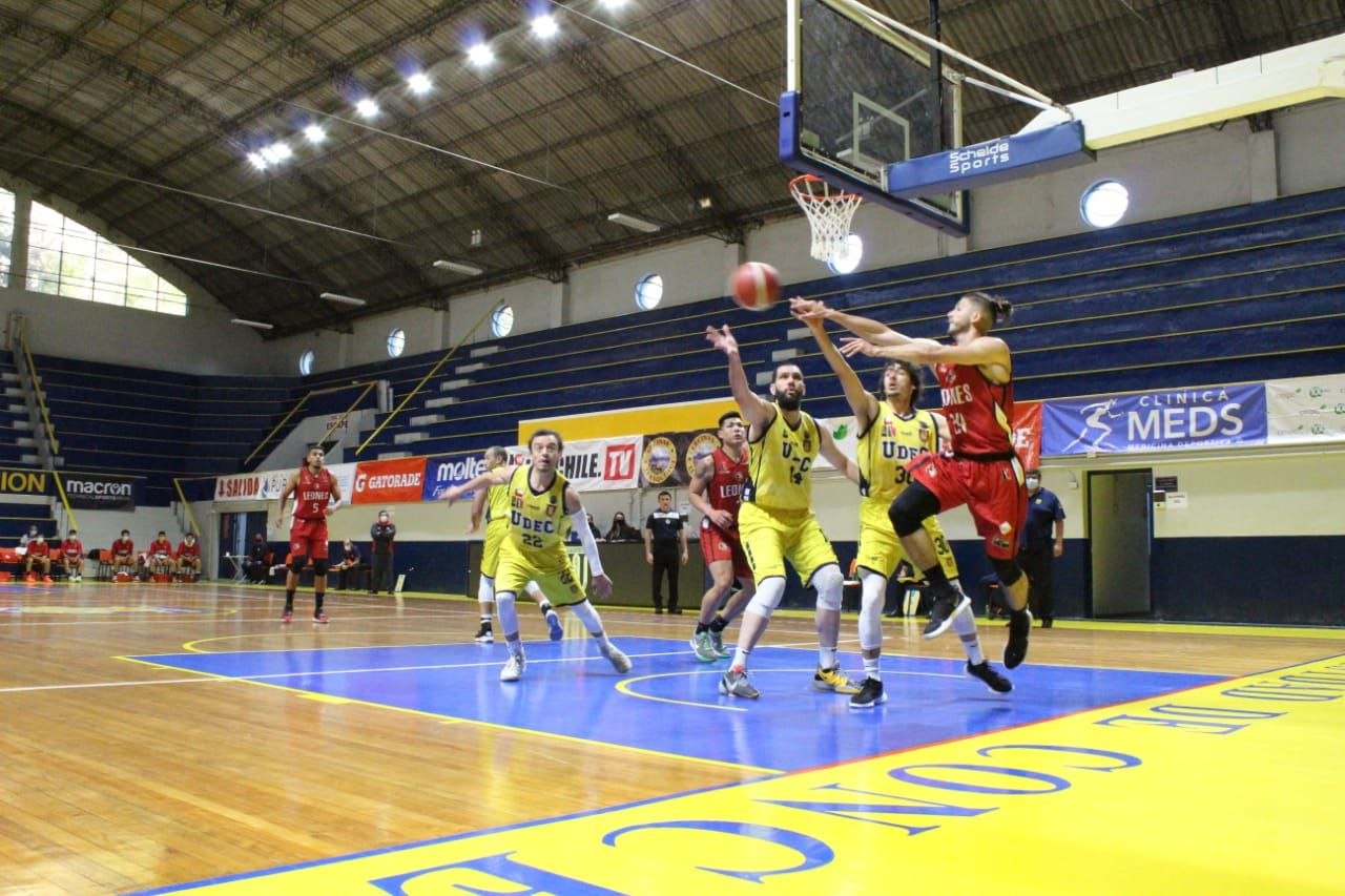 UdeC basket returns to play against Los Lions