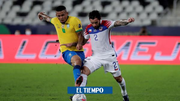 Video of Gabriel Jesus' kick to Mina in Copa America – international football – sport