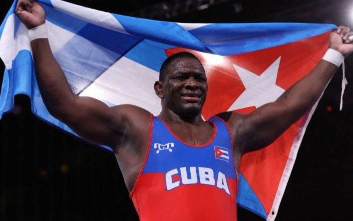 Two gold medals for Cuba in Greco-Roman wrestling and Mijaín López makes history with 4 Olympic gold medals