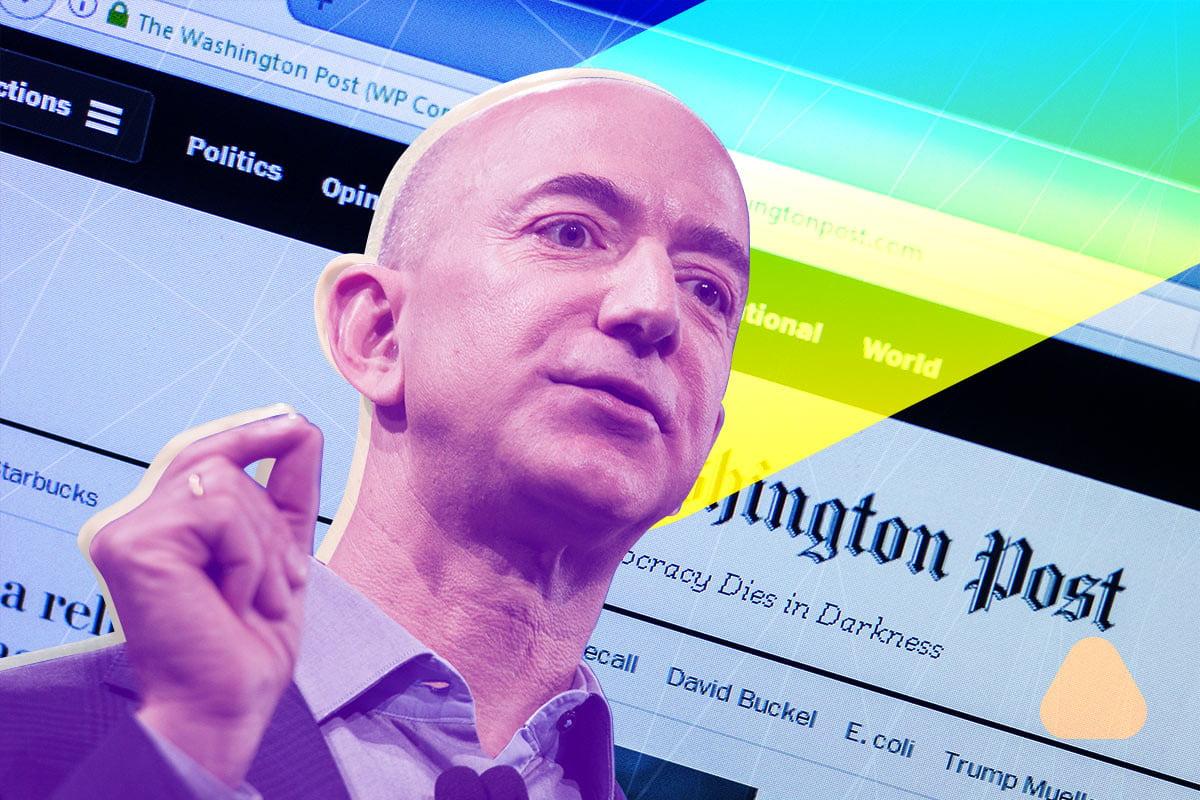 The day Jeff Bezos bought the Washington Post